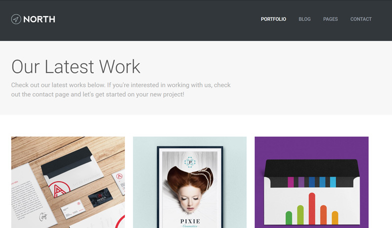 north-wordpress-theme