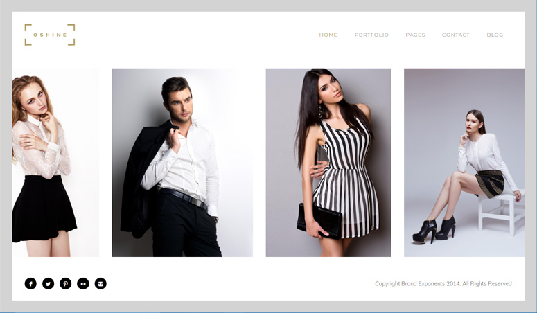 oshine-theme-photography-site