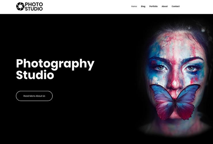 photo studio by cyberchimps