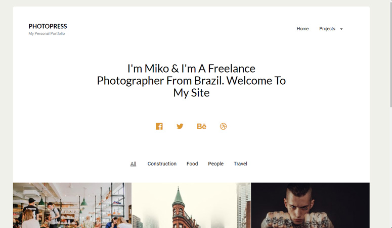 photopress-wordpress-theme