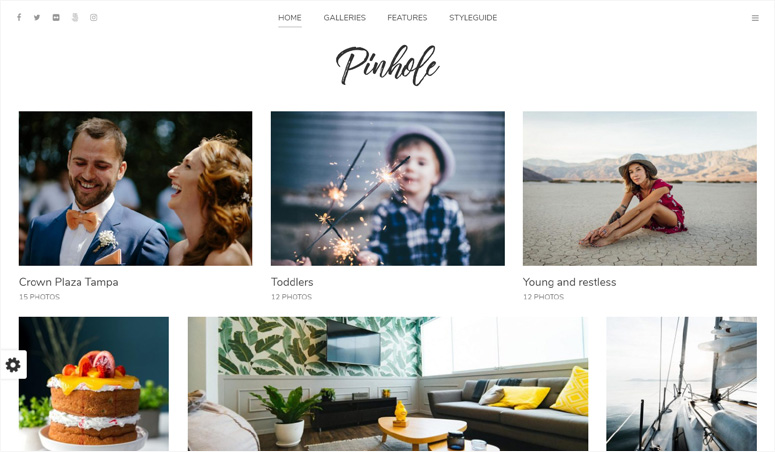 pinhole-wordpress-theme