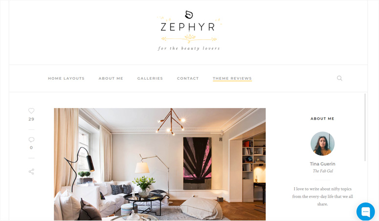 zephyr-wordpress-theme