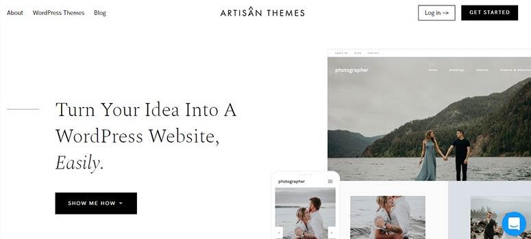 Artisan Themes