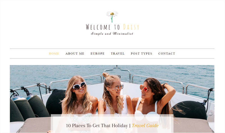 daisy-wordpress-theme
