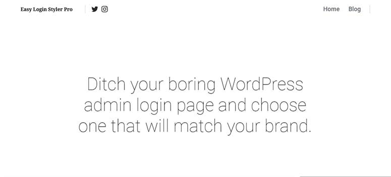 Easy login styler pro