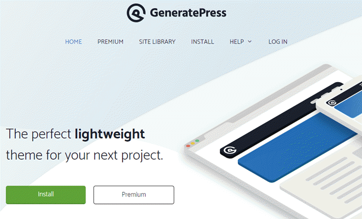 generatepress, amazon affiliates