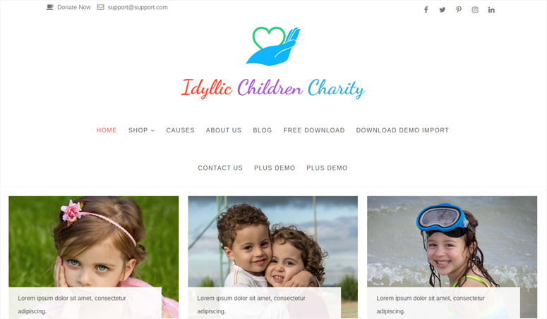idyllic-charity-wp-theme