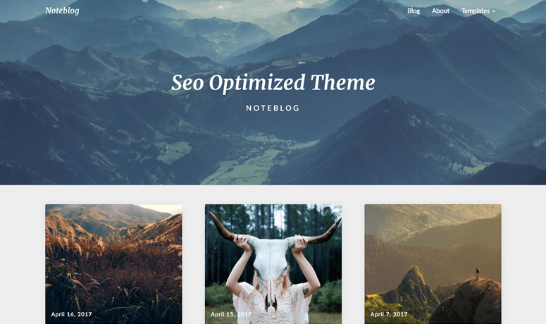noteblog-wp-blog-theme