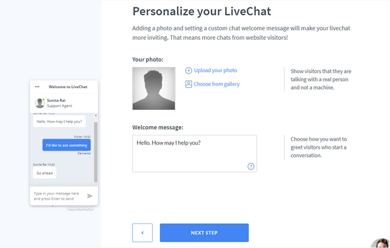 personalize-livechat