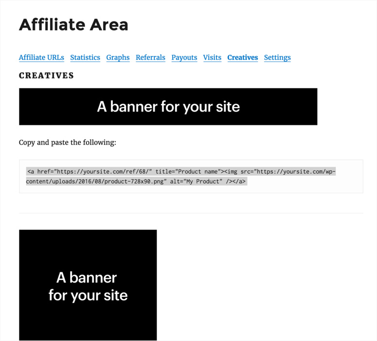 affiliate-area-creatives
