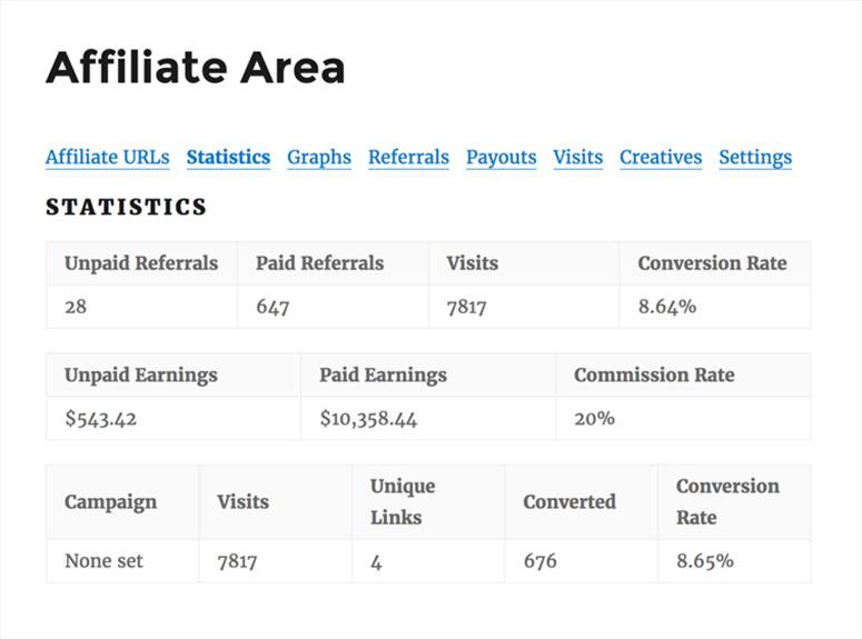 affiliate-area-statistics
