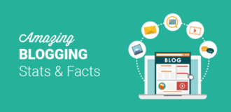 amazing blogging stats and facts