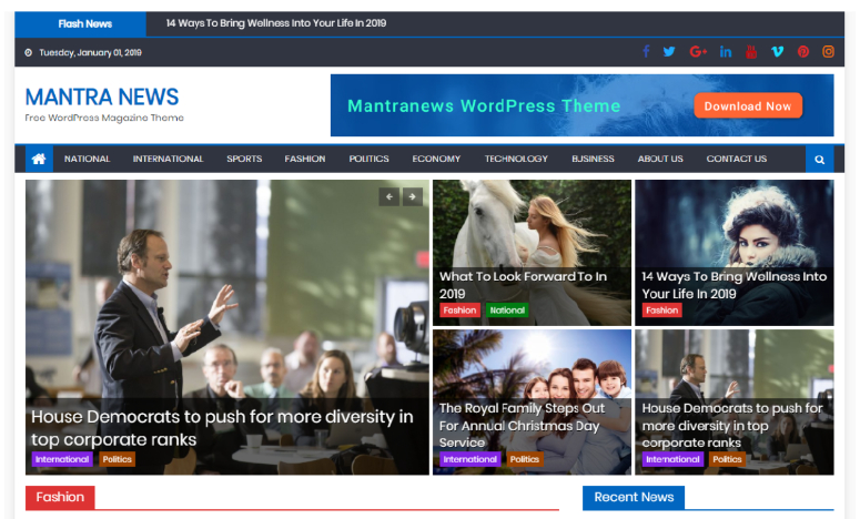 mantranews-wordpress-theme