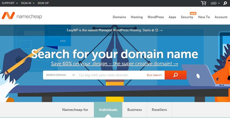 NameCheap, domain brokers