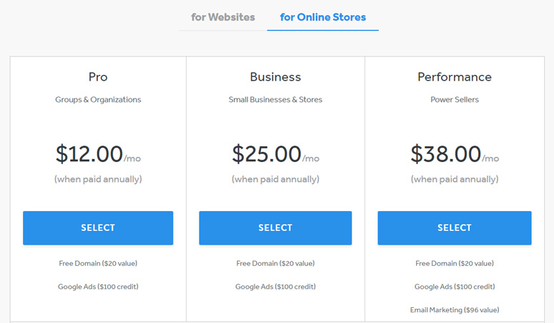 weebly-pricing-online-store