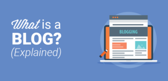 what is a blog explained