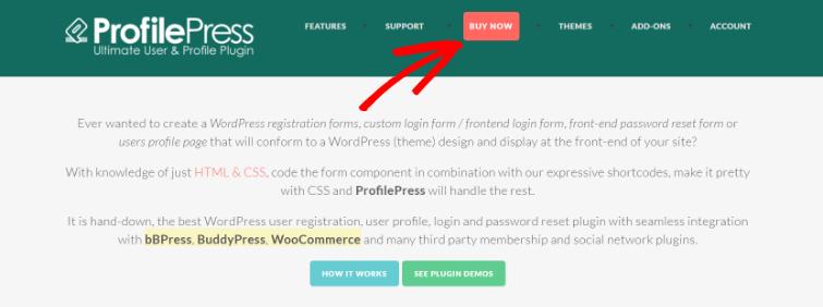 Buy ProfilePress