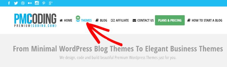 PremiumCoding homepage