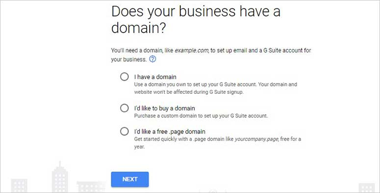 Have a domain