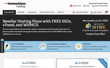 inmotion hosting reseller