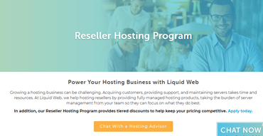 liquid web reseller