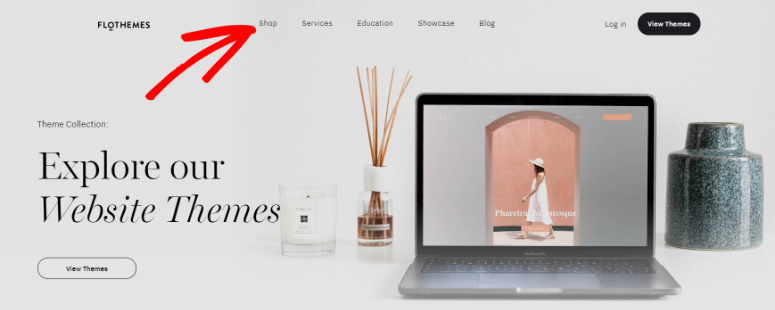 shop FloThemes