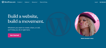 wordpress.com blog hosting