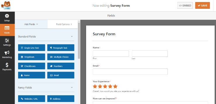 wpforms-surveys-editor
