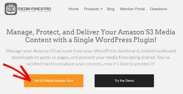Media Maestro homepage