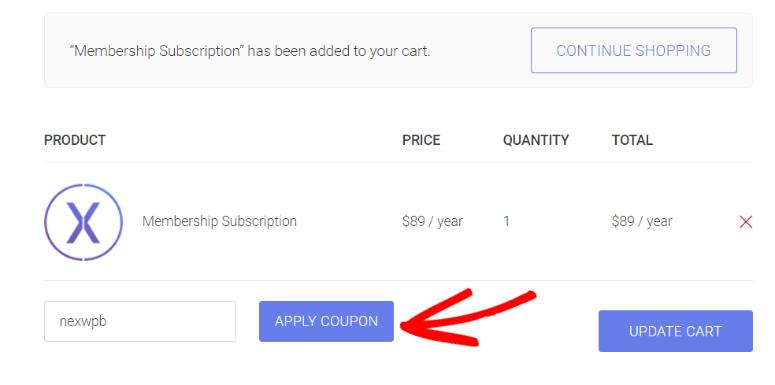 NexThemes discount code