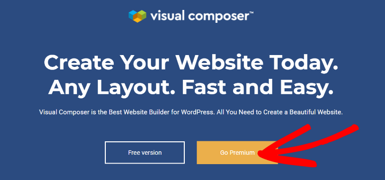 Visual Composer homepage