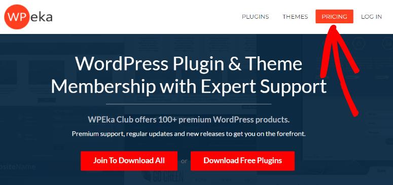 WPeka homepage