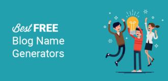best free blog name generators