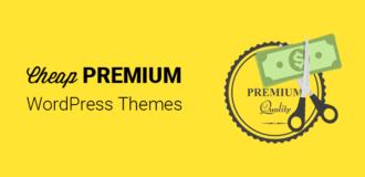 Cheap Premium WordPress Themes