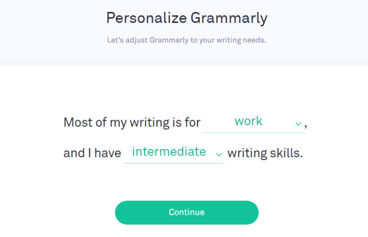 grammarly-personalization