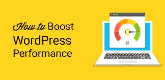 make wordpress website faster