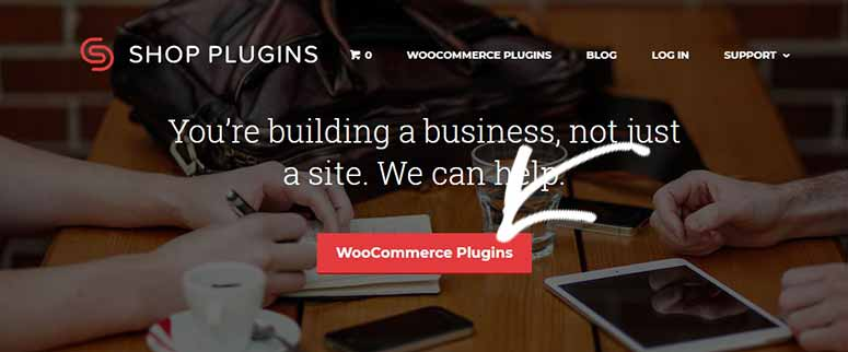 Shop plugins site