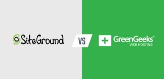 siteground vs. greengeeks