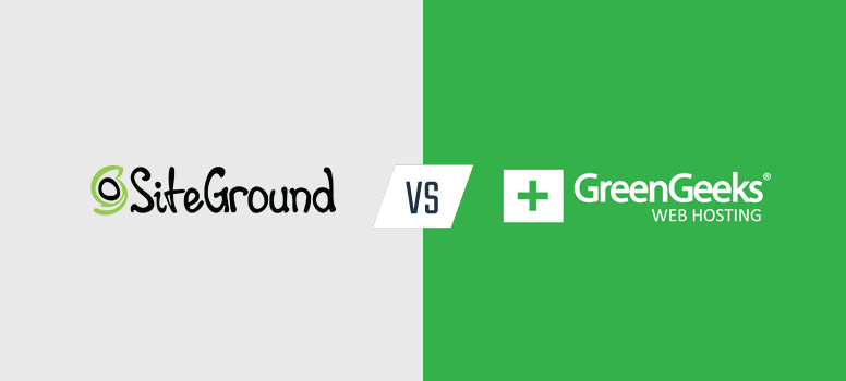 siteground vs. greengeeks