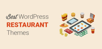 Best WordPress restaurant themes