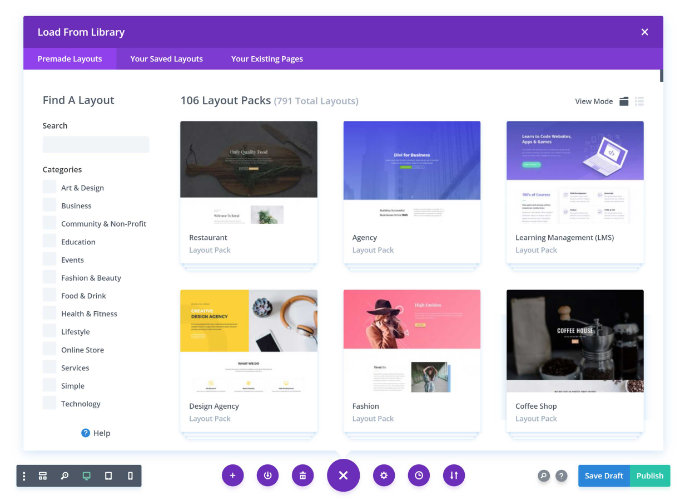 divi-layouts-library