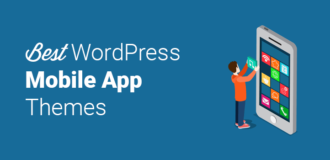 best wordpress mobile app themes
