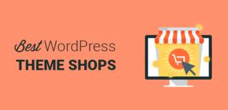 Best WordPress theme shops