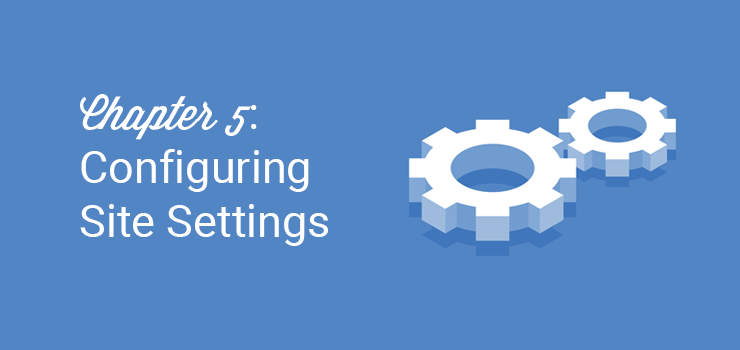 configuring site settings