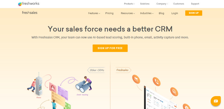freshsales-crm-software