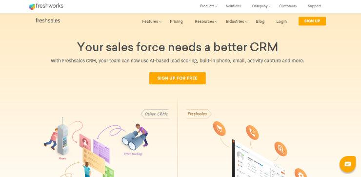 freshsales-crm-software