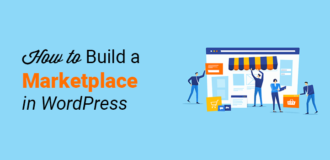 how to build marketplace wordpress