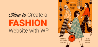 how to create a fashion website with wordpress