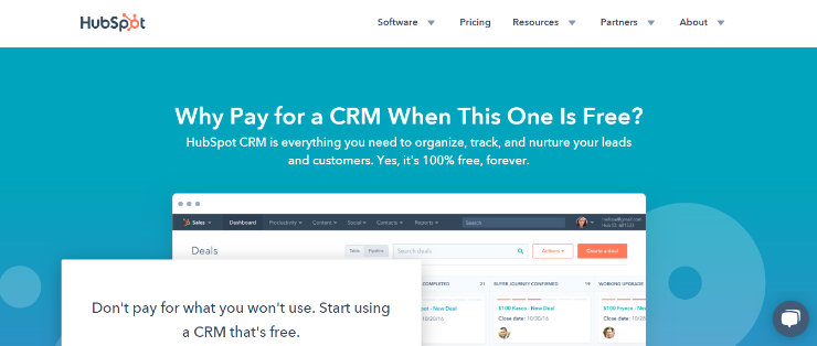 hubspot-crm-best-crm-software