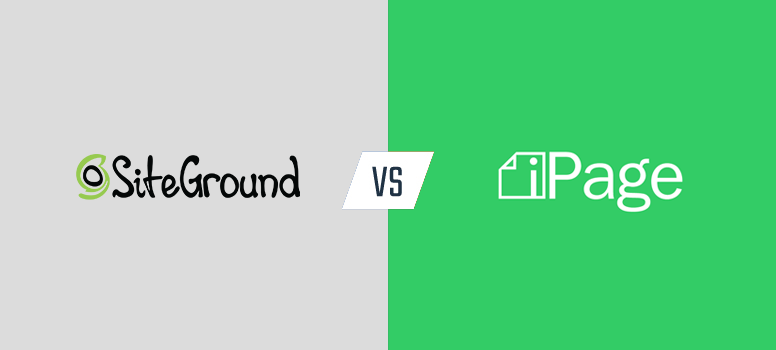 siteground vs ipage